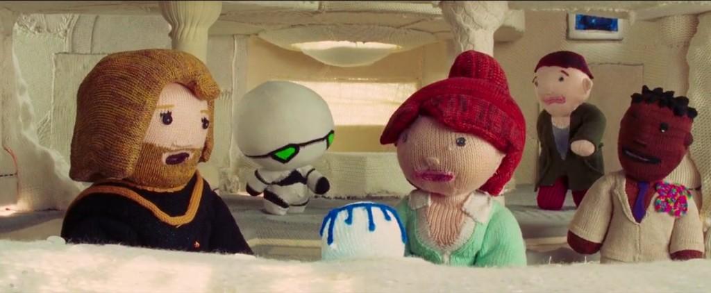 H2G2 film tricot crochet