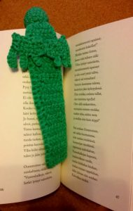 marque page Cthulhu crochet
