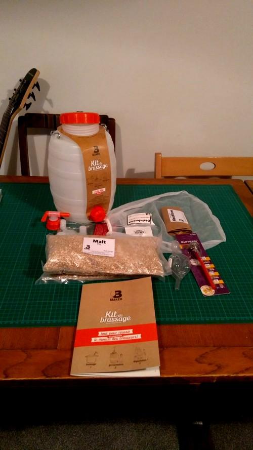 b maker beer brewing kit