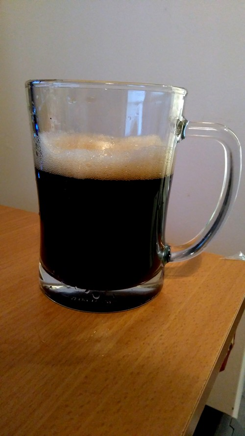 My first stout guinness like beer brewing