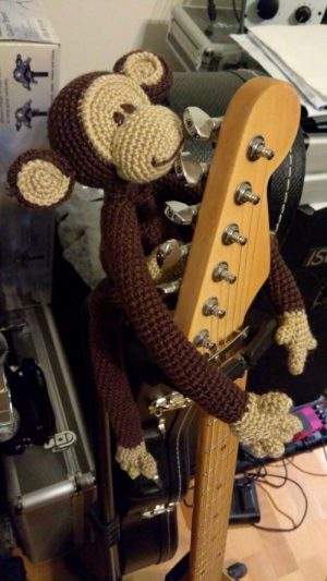 Amigurumi singe crochet