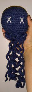 Crochet jellyfish amigurumi