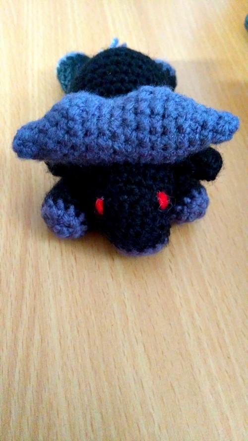 crochet buffalo