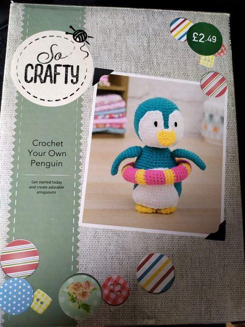 Penguin crochet kit Aldi so crafty